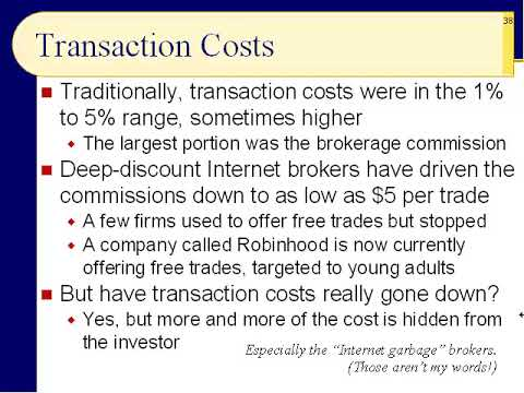 BUS123 Chapter 05 - Stock Transactions, Transaction Costs, and Stock Quotes - Slides 34 to 47