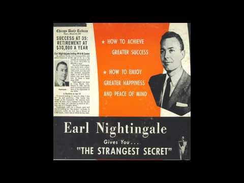"Earl Nightingale ft. Mark Victor Hansen - ""The Strangest Secret"" [Full Version] [HD Audio]"