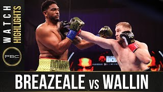 Breazeale vs Wallin HIGHLIGHTS: February 20, 2021 | PBC on SHOWTIME
