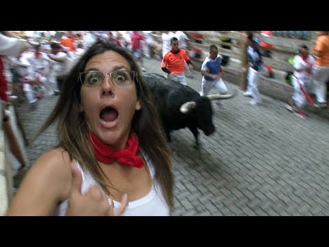 Gored! Running of the BULLS - Everything to know - Pamplona Spain