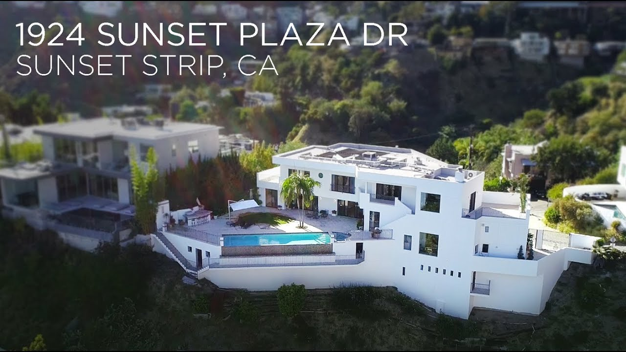Sunset strip contemporary 1924 sunset plaza dr