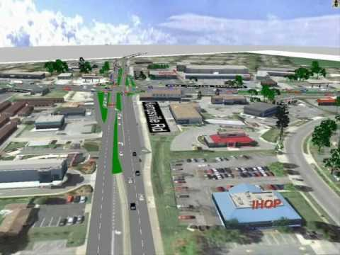 City of Virginia Beach - Proposed Hybrid Continuous Flow Intersection At Indian River / Kempsville