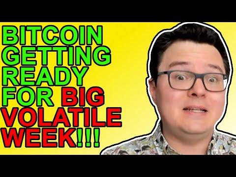 Bitcoin VERY Volatile Week Ahead!