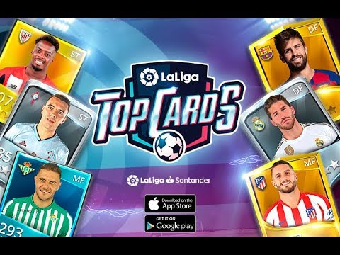 LaLiga Top Cards 2020 - Soccer Card Battle Games