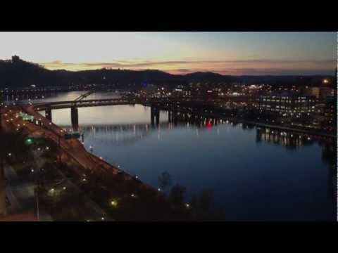 Pittsburgh Tour : Downtown, Bridges  (HD 1080p)