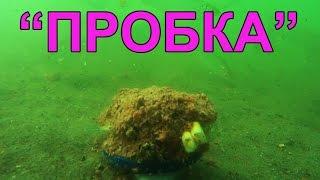 "Подводные съемки ловли на ""Пробку"". Рыбалка. Ловля на пробку. fishing"