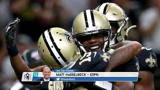 ESPN's Matt Hasselbeck on the Key to Saints' Success without Brees   The Rich Eisen Show   10/14/19