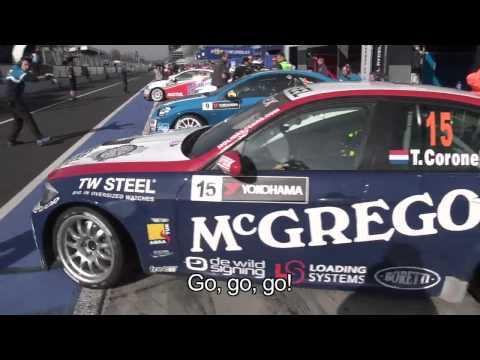 (UK) Monza quali Coronel and Tarquini, explanation by Rob Huff FIA WTCC 2012