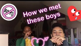 STORYTIME: How we met these boys👀