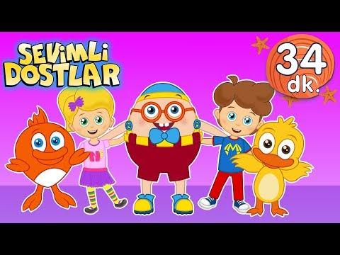 Canım Arkadaşım şarkısı Ve Devamında 30 Dk Sevimli Dostlar Bebek Şarkıları | Adisebaba TV Kids Songs