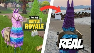 Fortnite objects are looking like in real life season 5 clashes of worlds