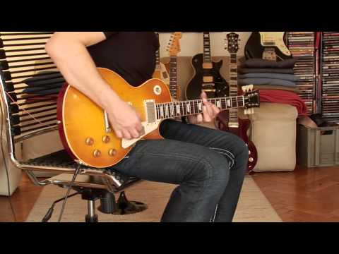 "2014 Gibson Les Paul  ""Collector's Choice 15 Aged"" (CC-15 A) ""Greg Martin"" Part1"