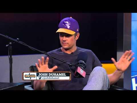 Josh Duhamel on The Dan Patrick Show (Part 1) 11/5/15