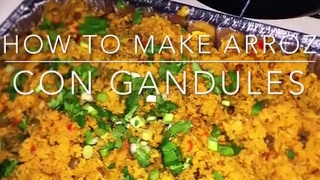 Easy To Make Puerto Rican Rice, Step By Step Arroz Con Gandules!