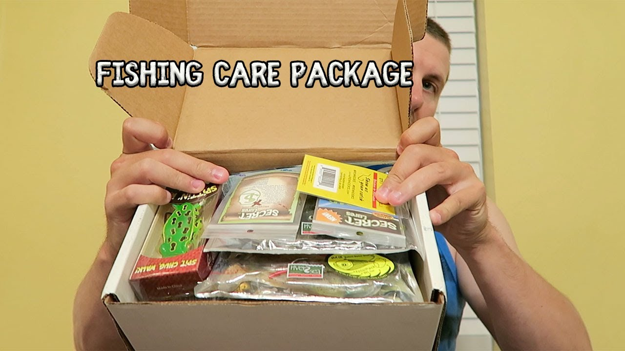 epic tackle unboxing 50 fishing care package youtube