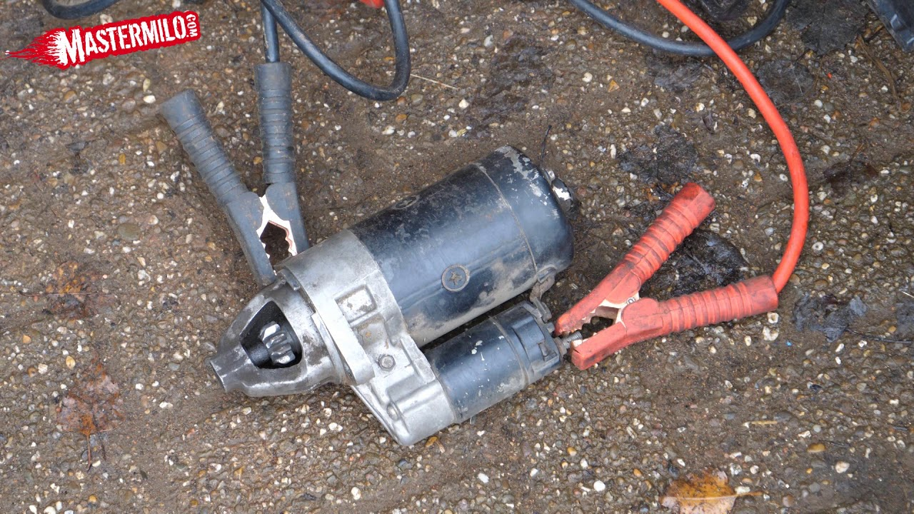 small resolution of how a starter motor works fixing a lazy starter