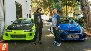 REVEALING his DREAM car with Han (Sung Kang) from Fast and Furious!