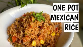 BEST ONE POT MEXICAN RICE