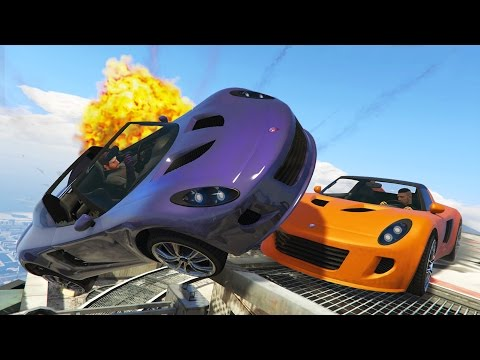 GTA 5 Online - ULTIMATE SUMO BATTLES!! GTA 5 Online Demolition Derby! (GTA 5 Online Gameplay)