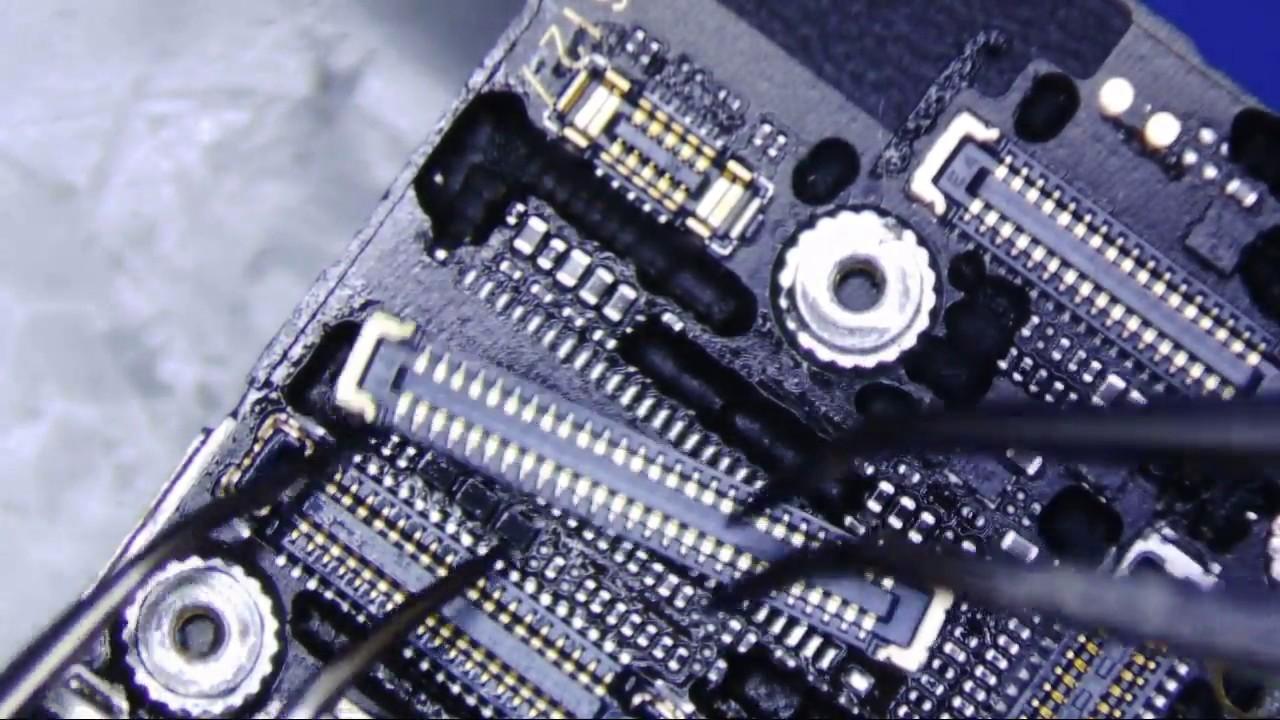 brand new 278e3 877ba iPhone 6S Plus LCD Digitizer Connector Repair