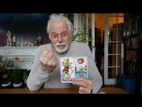 Tarot Reading video by Alejandro Jodorowsky for Robo G - english subtitles