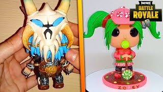 TOP 3 MEILLEURES REALISATIONS EN POLYMERE SUR FORTNITE POLYMER CLAY