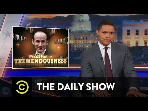 Profiles in Tremendousness - Senior Adviser Stephen Miller: The Daily Show