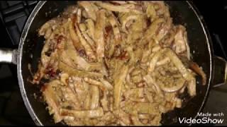 Жареная требуха!!! Очень простое и вкусное блюдо из требухи!
