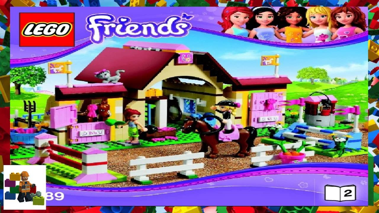 Lego Instructions Lego Friends 3189 Heartlake Stables Book 2
