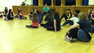 """Video Eliza singing & dancing at the NYMT January 2013 workshop - """"Roll Up, Roll Up"""" from Captain Stirrick download MP3, 3GP, MP4, WEBM, AVI, FLV November 2017"""