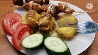 Картошка гармошка Язык проглотить можно Нежная и очень вкусна получается всегда