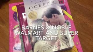 Barnes and Noble l Walmart l Super Target Haul