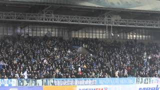 динамо - Зенит. (16.03.2012) Обзор трибун