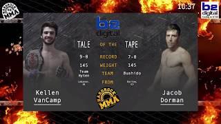 Hardrock MMA 96 Fight 12 Kellen VanCamp vs Jacob Dorman 145 Ammy Title