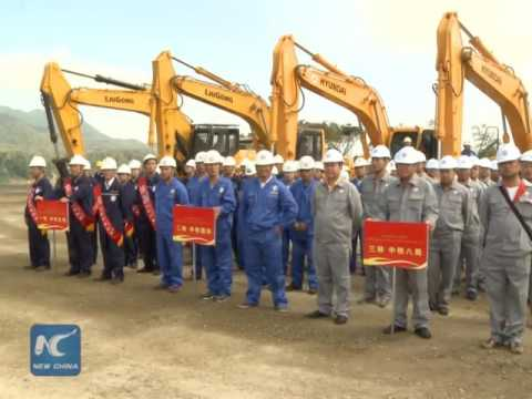 China-Laos railway breaks ground! First overseas railway linking China