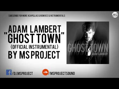 Adam Lamber - Ghost Town (Official Instrumental) + Download