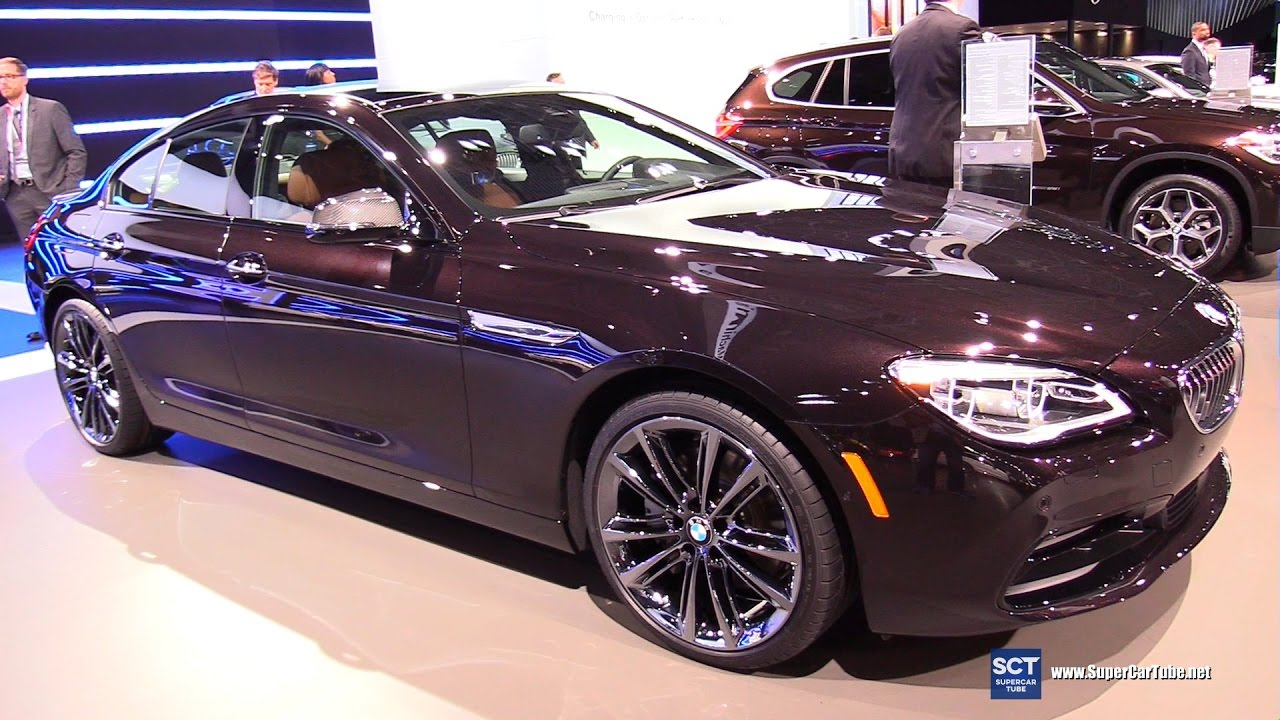 2017 bmw 650i xdrive gran coupe exterior and interior walkaround 2017 new york auto show