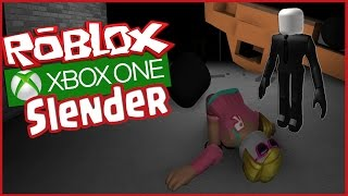 ROBLOX XBOX - Stop it, Slender! Multiplayer Gameplay - Collect ALL Pages Mini Game (Roblox Xbox One)