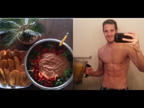 What I Eat In A Day [80/10/10 Raw Vegan] Under $10 (March 2015)