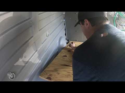 Astro Van Floor Project planning