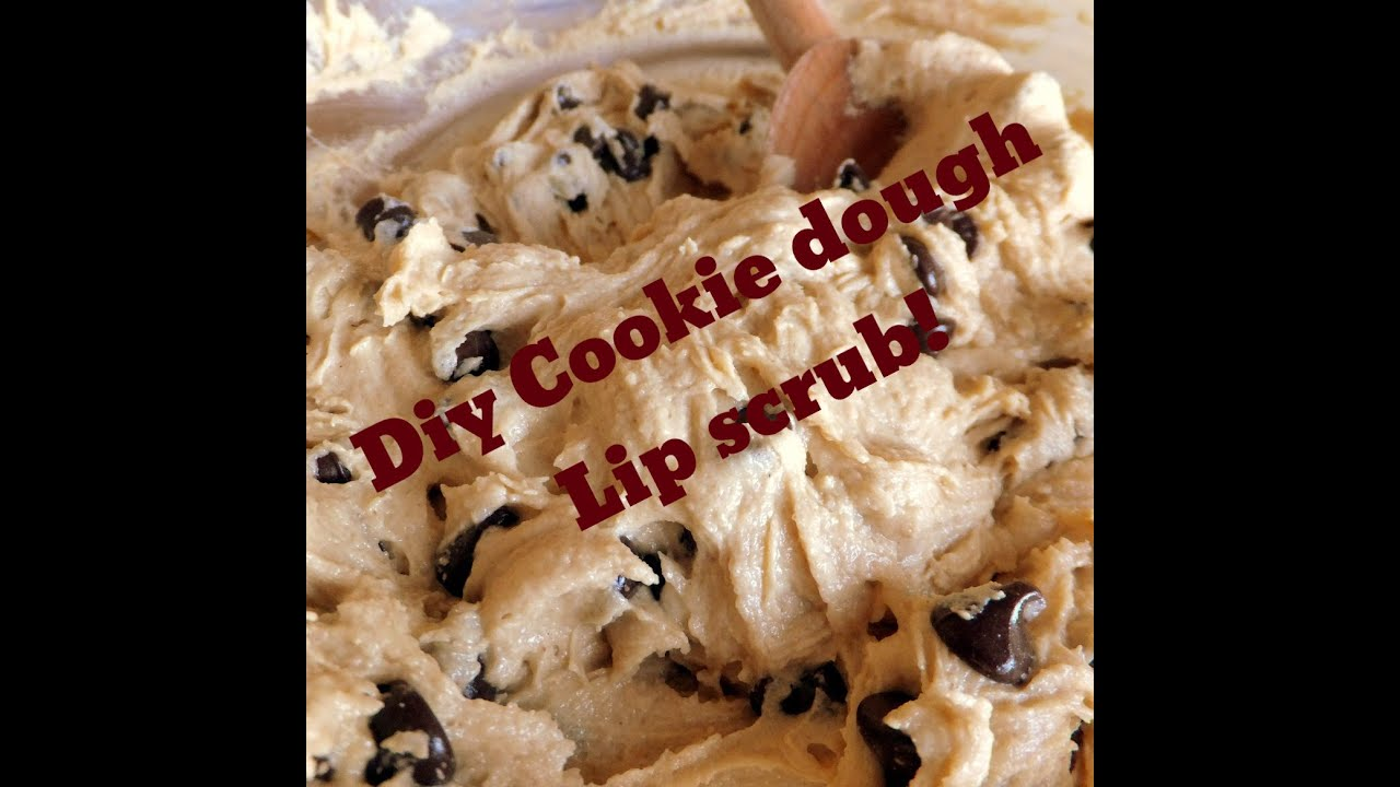 DIY cookie dough lip scrub Nikki and Eva YouTube