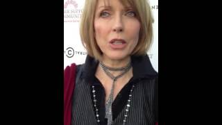 Susan Blakely chats about Cancer Support Community