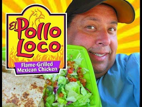 El Pollo Loco® Chicken Avocado Tortilla Wrap REVIEW!