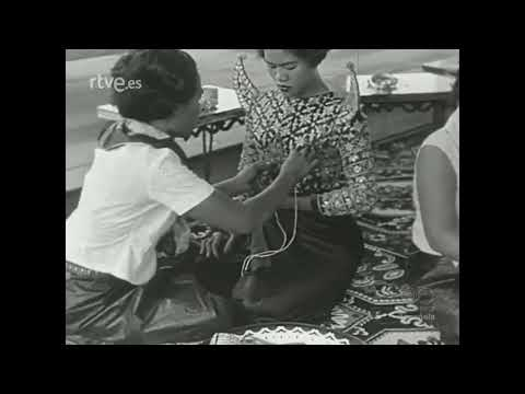 Spanish Television Archives  The Royal Ballet of Cambodia in March 1961