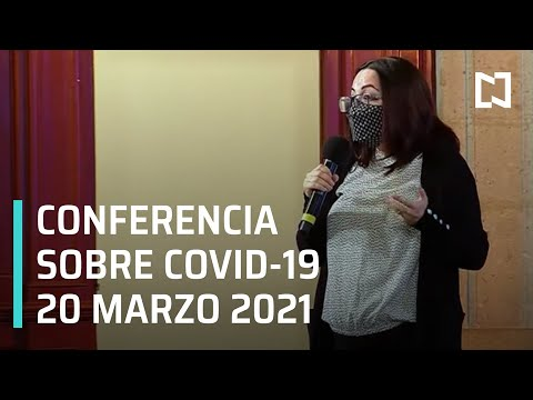 Informe diario Covid-19 En Vivo - 20 de Marzo 2021