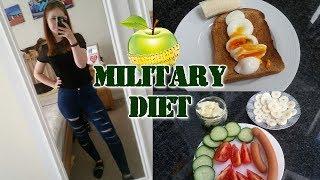Die Militär Diät - bis zu 5kg pro Woche abnehmen?! | Vlog + Fazit
