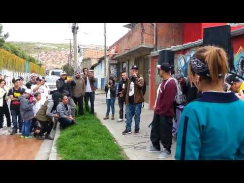 Rapper School en Colombia Improvisacion