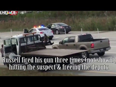 Video of Florida Concealed Carry Permit Holder rescuing Sheriff's Deputy