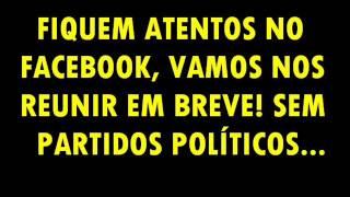 CRUCILÂNDIA, VEM PRA RUA, A RUA É A MAIOR ARQUIBANCADA DO BRASIL!