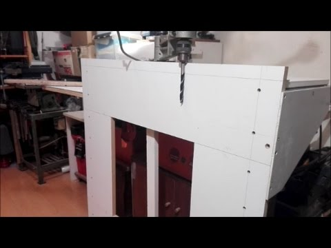 Drill Press Stand Table for Large Panel/Door SIDES Part 2 ( ,, HOW TO ,, )
